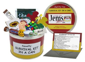 Grandparent Survival Kit In A Can